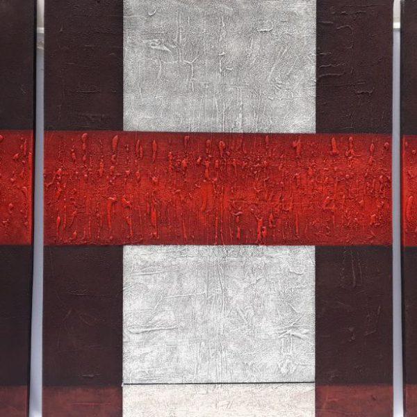 Cuadro Triptico Pared Pintura en Lienzo
